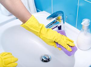 Sanitair reinigen schoonmaakonderhoud